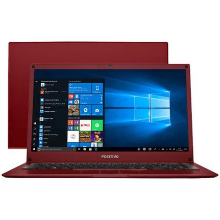 "Notebook - Positivo Q232b Atom X5-z8350 1.44ghz 2gb 32gb Ssd Intel Hd Graphics Windows 10 Home Motion 14"" Polegadas"