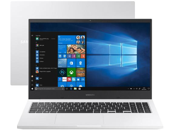 "Notebook - Samsung Np550xcj-kt2br I3-10110u 2.10ghz 4gb 1tb Padrão Intel Hd Graphics Windows 10 Home Book E30 15,6"" Polegadas"