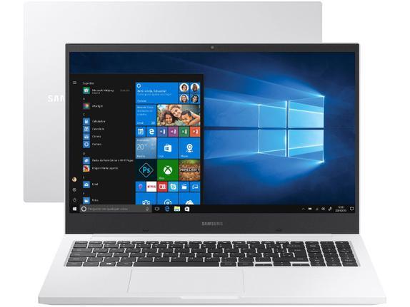 "Notebook - Samsung Np550xcj-xf2br I5-10210u 1.60ghz 8gb 1tb Padrão Geforce Mx110 Windows 10 Home Book X40 15,6"" Polegadas"