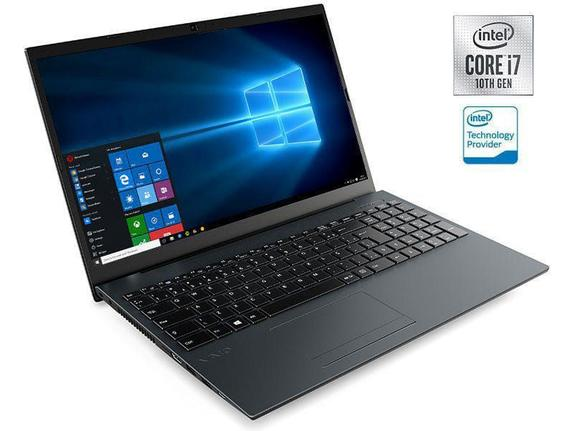 "Notebook - Vaio Vjfe52b0811h I7-10510u 1.80ghz 8gb 256gb Ssd Intel Hd Graphics Windows 10 Home Fe15 15,6"" Polegadas"
