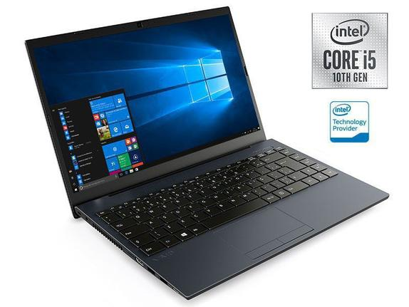 "Notebook - Vaio Vjfe42b0321h I5-10210u 1.60ghz 8gb 256gb Ssd Intel Hd Graphics Windows 10 Home Fe14 14"" Polegadas"