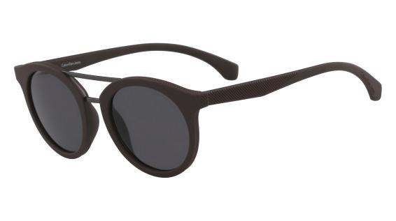 8f76df4f646b3 Óculos Calvin Klein Jeans Ckj817S 256 Marrom Lente Cinza Flash Tam 48 R  398