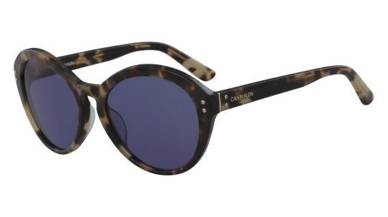 79d5486281fe6 Óculos CK Ck18506S 244 Tartaruga Lente Azul Flash Tam 57 - Óculos de ...