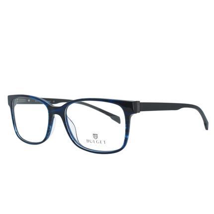 416891710 Óculos de Grau Bulget Masculino BG6283 E01 - Acetato Azul e Preto - - -  Magazine Luiza