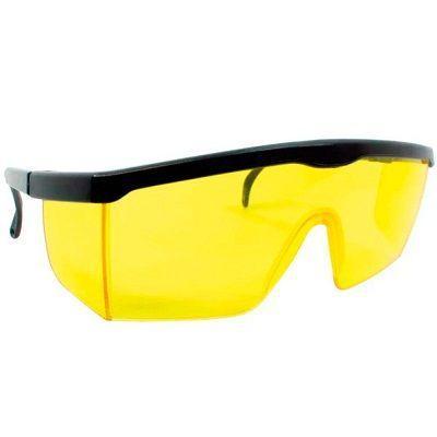 4fb289cca4f83 Óculos de Segurança   Proteção Titan Amarelo Proteplus - Óculos de ...