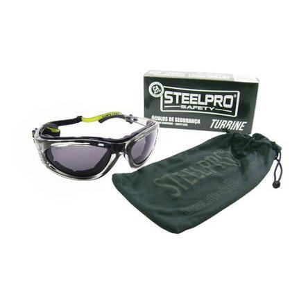 c86eed748a161 Óculos De Segurança Turbine Fumê Steelpro Vicsa - Óculos de Proteção -  Magazine Luiza