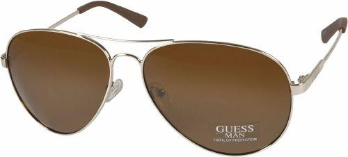 444d6faa85554 Óculos De Sol Guess - Gu6735 Gld-1 - Óculos de Sol - Magazine Luiza