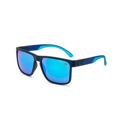 c906506b6 Óculos de Sol Mormaii MONTEREY M0029 I34 97 Azul Lente Espelhada Azul Tam 56  - - - Magazine Luiza