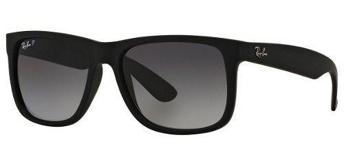 15722a6b3a7b5 Óculos De Sol Ray-ban Justin Rb 4165l 622 t3 57 Polarizado - Óculos ...
