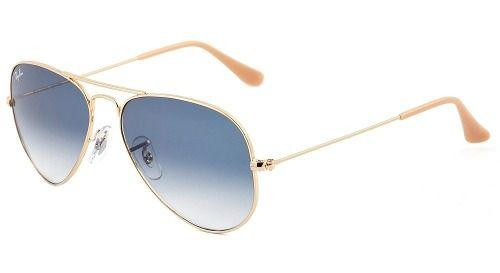 Óculos De Sol Ray Ban Rb3025l 001 3f 58 Aviador Azul Degrade - Ray ... c01c349292