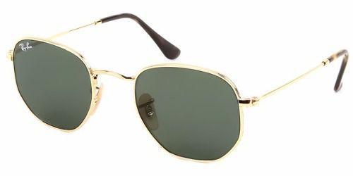 Óculos De Sol Ray-ban Rb3548n 001 54-21 Hexagonal - Óculos de Sol ... eae439c518ba