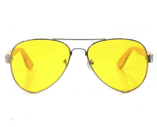 7f37cb286 Óculos de Sol Unissex Aviador BL com Haste de Madeira - Vinkin ...