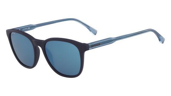a79a8865f Imagem de Óculos Lacoste L864S 424 Azul Fosco Lente Azul Flash Tam 53