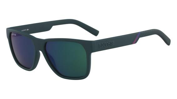 c66536577f8f1 Imagem de Óculos Lacoste L867S 315 Verde Fosco Lente Verde Azul Flash Tam 57