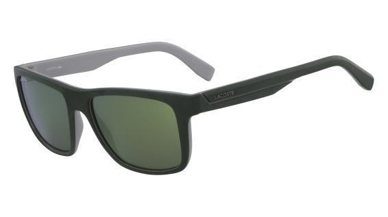 dfdccbf8a Imagem de Óculos Lacoste L876S 315 Verde Fosco Branco Lente Verde Flash Tam  57