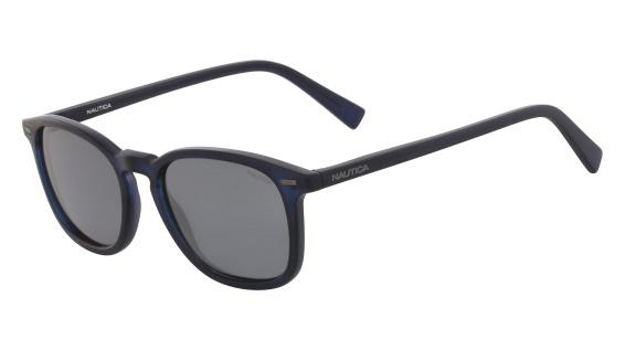 Imagem de Óculos Nautica N3617Sp 420 Azul Translúcido Lente Polarizada  Cinza Flash Tam 52 514835514d