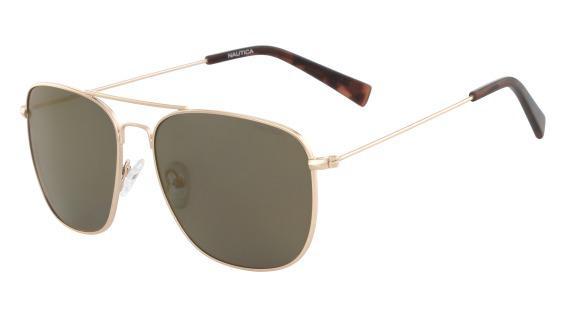 Imagem de Óculos Nautica N4618Sp 754 Ouro Lente Polarizada Marrom Flash Tam  56 8c938258a5