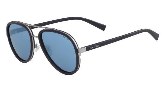 Imagem de Óculos Nautica N4627Sp 410 Azul Naval Lente Polarizada Azul Flash  Tam 57 ce23f3655d