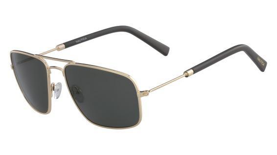 Imagem de Óculos Nautica N4632Sp 717 Ouro Lente Polarizada Cinza Flash Tam  59 045326f5dd