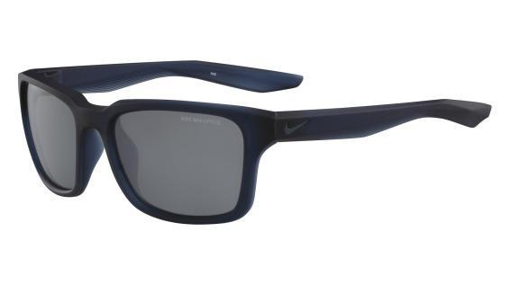 Imagem de Óculos NIKE Essential Spree Ev1005 440 Azul Translúcido Lente  Polarizada Cinza Flash Tam 57 fde2792d52