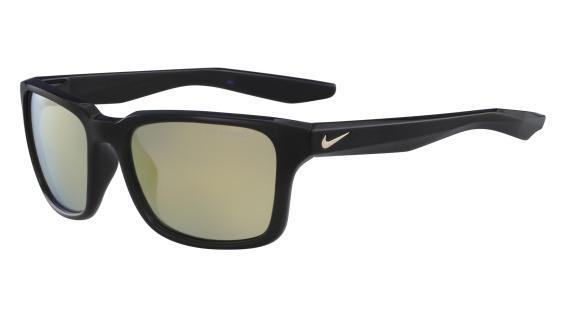 Imagem de Óculos NIKE Essential Spree R Ev1004 007 Preto Lente Polarizada  Ouro Flash Tam 57 df73db72b0