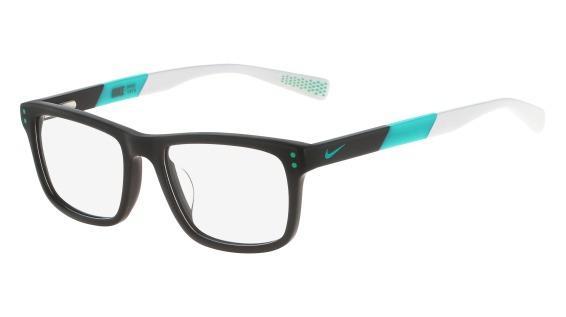 4ab8a20d21136 Óculos NIKE Nike 5536 070 Preto Azul Degradê Lente Tam 46 - Óptica ...