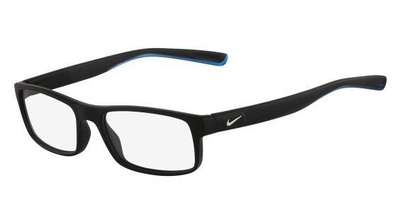 Óculos NIKE Nike 7090 018 Preto Fosco Lente Tam 53 - Óculos de grau ... ae6932c479