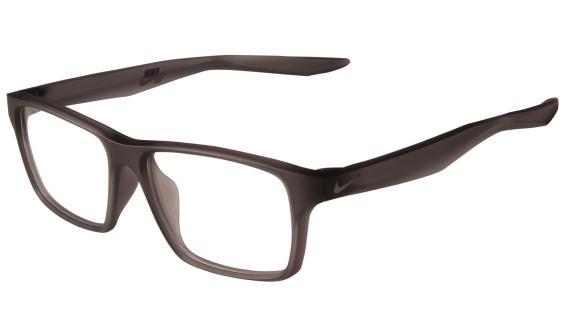 8cef442329be0 Óculos NIKE Nike 7112 070 Cinza Translúcido Lente Tam 53 - Óptica ...