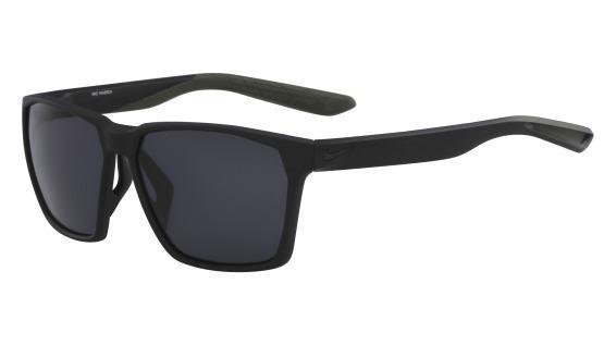 345d4f8adf46c Imagem de Óculos NIKE Nike Maverick Ev1094 001 Preto Fosco Lente Cinza  Flash Tam 59