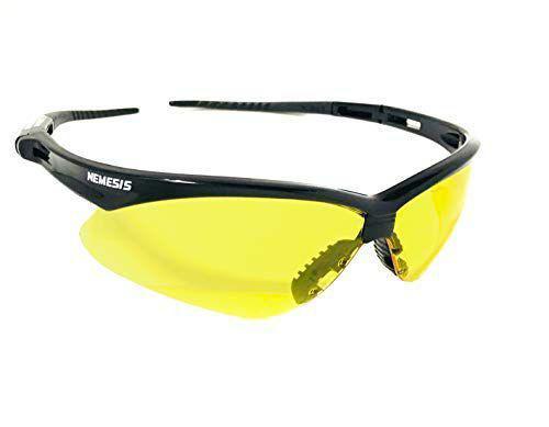 fe371683a Imagem de Óculos proteção nemesis preto lentes amarelas esportivo balístico  paintball esportivo resistente a impacto ciclismo