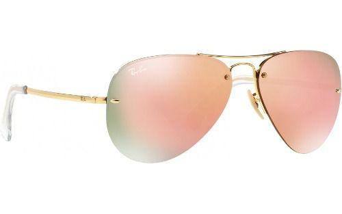 0efe4b3626394 Óculos Solar Ray-ban Rb3449 001 2y Aviador - Óculos de Sol ...