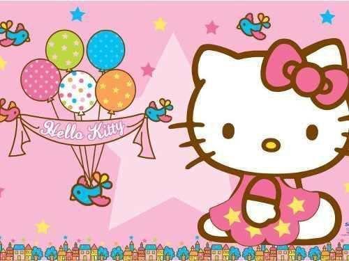 Painel De Festa Hello Kitty 03 Colormyhome Painel De Festas