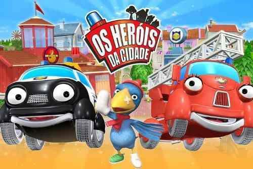 Painel De Festa Os Herois Da Cidade 01 Colormyhome Painel De