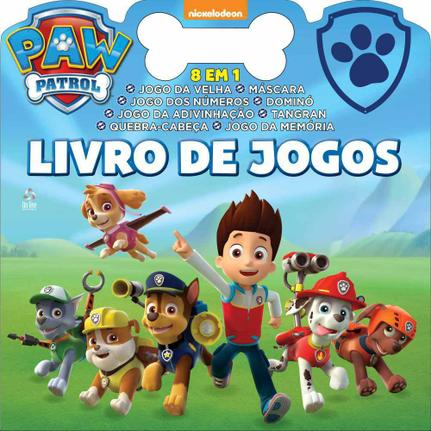 Patrulha Canina Livro De Jogos Online Editora Livros De Literatura Infantil Magazine Luiza