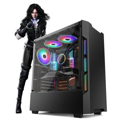 Desktop Neologic Gamer Nli81747 I5-8400 2.80ghz 8gb 1tb Geforce Gtx 1660 Windows 10 Pro Sem Monitor