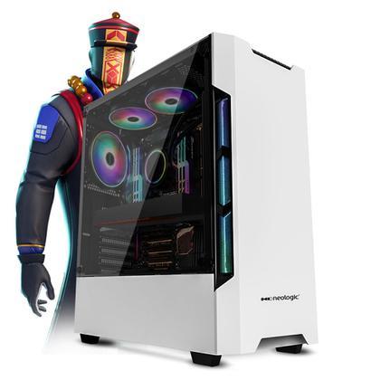 Desktop Neologic Gamer Nli81321 I3-7100 3.90ghz 8gb 240gb Amd Radeon Rx570 Windows 10 Pro Sem Monitor