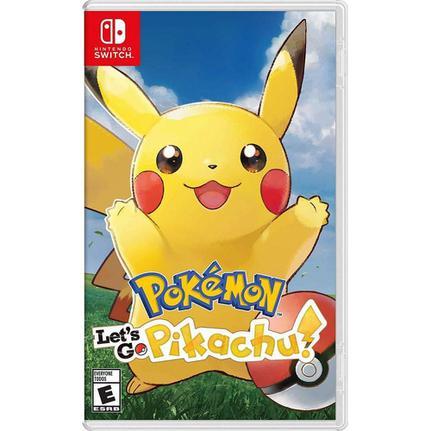 Jogo Pokémon: Lets Go, Pikachu! - Switch - Nintendo