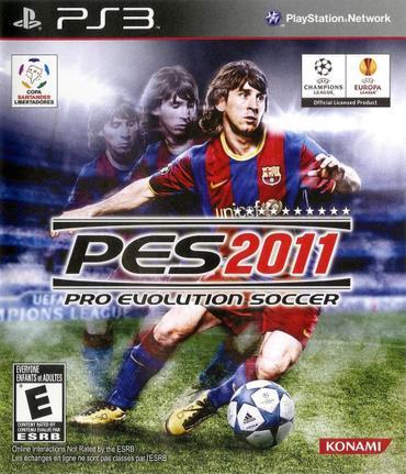 Jogo Pes 2011 - Playstation 3 - Konami