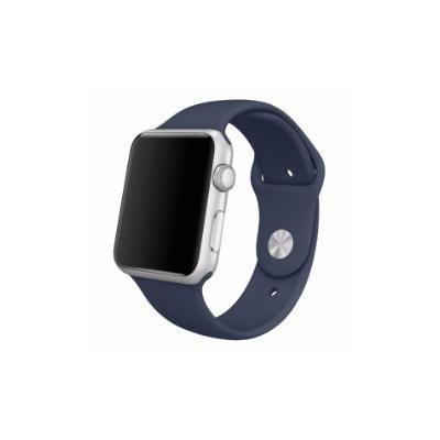 be07dbab15b Imagem de Pulseira Sport Tamanho Feminino Azul Marinho Compativel com apple  watch de 42mm e 44mm