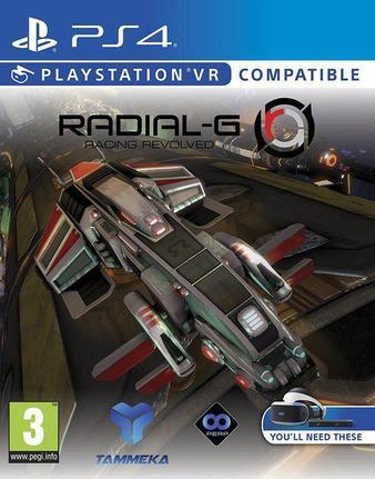 Jogo Radial-g - Playstation 4 - Tammeka Games