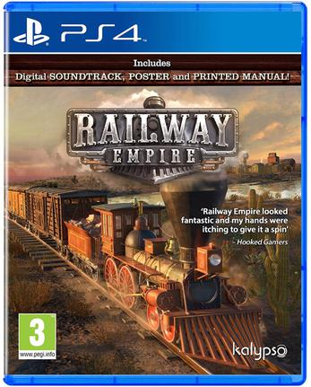 Jogo Railway Empire - Playstation 4 - Kalypso