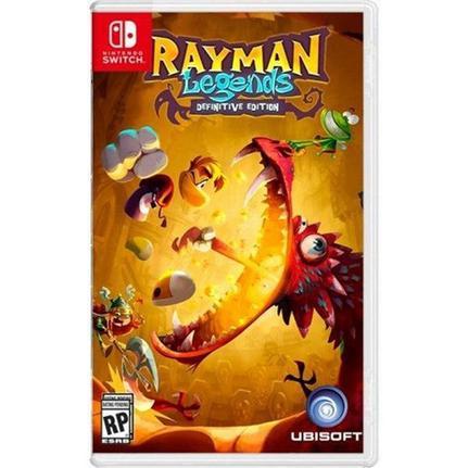 Jogo Rayman Legends Definitive Edition - Switch - Ubisoft