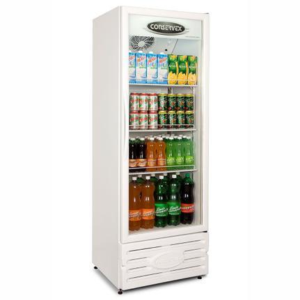 Geladeira/refrigerador 400 Litros 1 Portas Branco - Conservex - 110v - Erv-400