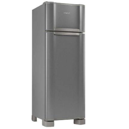 Geladeira/refrigerador 276 Litros 2 Portas Inox - Esmaltec - 110v - Rcd34