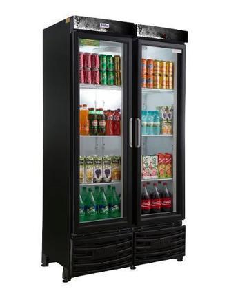 Geladeira/refrigerador 1200 Litros 2 Portas Preto - Frilux - 110v - Rf006