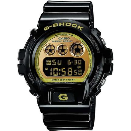 82fe6cd30e5 Relógio Casio Masculino G-shock Digital Preto E Dourado Dw6900cb1ds -  Relógio Masculino - Magazine Luiza