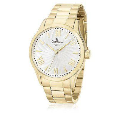 b02a8437fce Relógio Feminino Champion CN27796H Dourado - Relógio Feminino ...