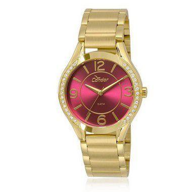d782a5352c1 Relógio Feminino Condor CO2035KRG 4N Dourado - Relógio Feminino ...