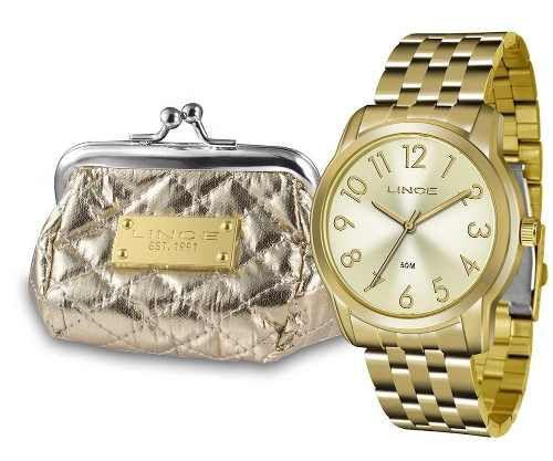 Relógio Lince Feminino C  Mini Bolsa Lrg4456l Kt73 - Relógio ... 60dbf56c9e