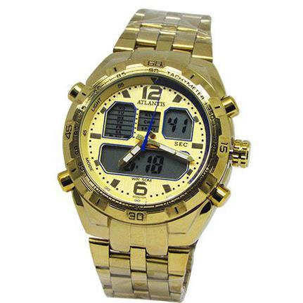 15bcaa58146 Relogio masculino anadigi atlantis g3225 dourado - Relógio Masculino - Magazine  Luiza